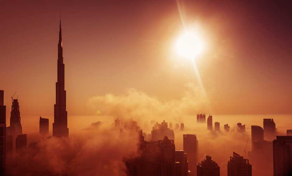 Har du ikke råd til de dyre hoteller i Dubai?